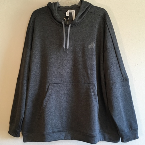 3e37d4ac2e0e NWT Adidas Mens Hoodie Sweatshirt Pullover Shirt